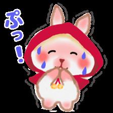 Little Red Riding Hood Rabbit sticker #8536696