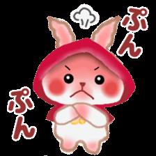 Little Red Riding Hood Rabbit sticker #8536700