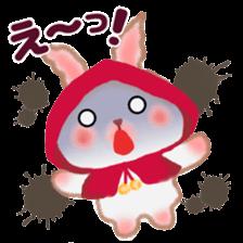 Little Red Riding Hood Rabbit sticker #8536701