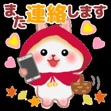 Little Red Riding Hood Rabbit sticker #8536703