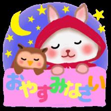 Little Red Riding Hood Rabbit sticker #8536705