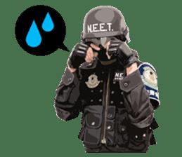 N.E.E.T. ZITAKUKEIBITAI sticker #8541690