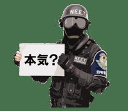 N.E.E.T. ZITAKUKEIBITAI sticker #8541694