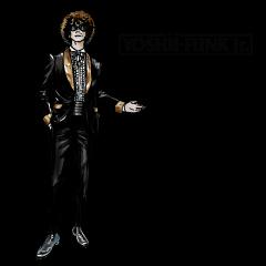 YOSHII FUNK Jr. STICKER