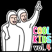 สติ๊กเกอร์ไลน์ Cool Kids vol.4 [English Version]