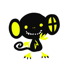 Shadow monkey light up!