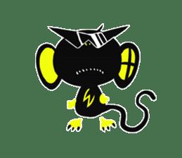Shadow monkey light up! sticker #8555847