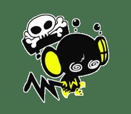 Shadow monkey light up! sticker #8555848