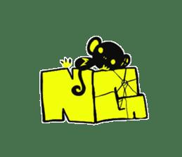 Shadow monkey light up! sticker #8555860