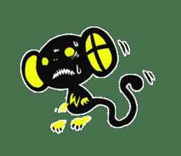 Shadow monkey light up! sticker #8555868