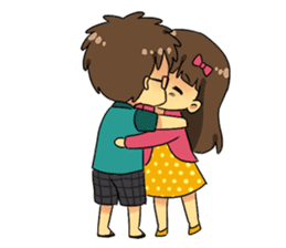 Our Love Story 4 : I love you more sticker #8564161