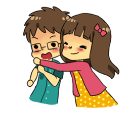 Our Love Story 4 : I love you more sticker #8564163
