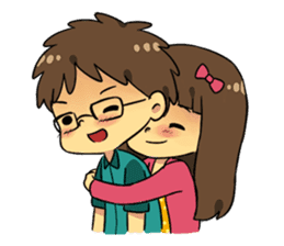 Our Love Story 4 : I love you more sticker #8564170