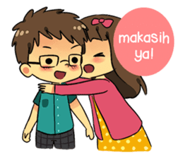 Our Love Story 4 : I love you more sticker #8564184