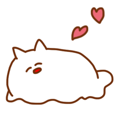 Sticker of the cat which may be cute 2