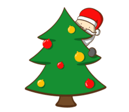 It's time for X'mas and New Year sticker #8568564