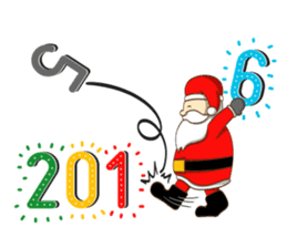 It's time for X'mas and New Year sticker #8568572