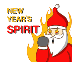 It's time for X'mas and New Year sticker #8568584