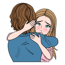 Sharon in Couple sticker #8579094