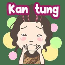 Ahua from Medan version 2 ( Hokkien ) sticker #8581196