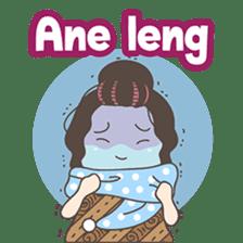 Ahua from Medan version 2 ( Hokkien ) sticker #8581207