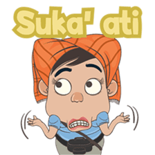 Butet From Medan sticker #8581784