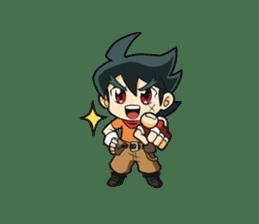 The Golden Age of Adventures-Solar Team sticker #8585438