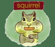 Squirrel Cutie sticker #8585466