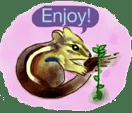 Squirrel Cutie sticker #8585469
