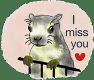 Squirrel Cutie sticker #8585471