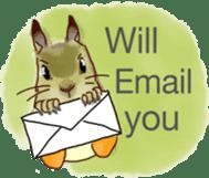 Squirrel Cutie sticker #8585475