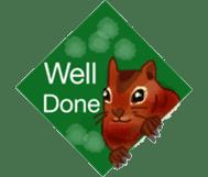 Squirrel Cutie sticker #8585478