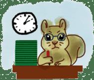 Squirrel Cutie sticker #8585484