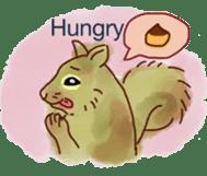 Squirrel Cutie sticker #8585494