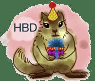 Squirrel Cutie sticker #8585498