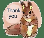 Squirrel Cutie sticker #8585499