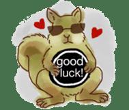 Squirrel Cutie sticker #8585504