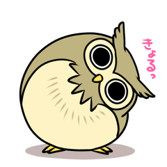 Owl's sticker