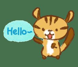 Cute Squirrel-Chipmunk~Jojo sticker #8590386