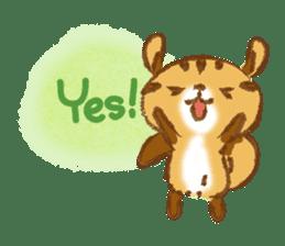Cute Squirrel-Chipmunk~Jojo sticker #8590387