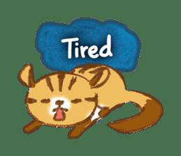 Cute Squirrel-Chipmunk~Jojo sticker #8590390