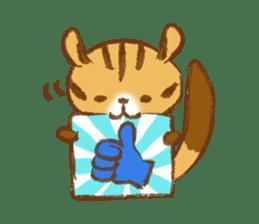 Cute Squirrel-Chipmunk~Jojo sticker #8590392