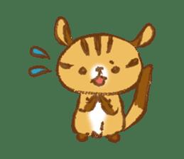 Cute Squirrel-Chipmunk~Jojo sticker #8590406