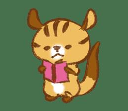 Cute Squirrel-Chipmunk~Jojo sticker #8590409
