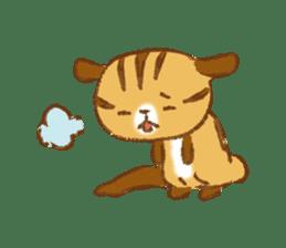 Cute Squirrel-Chipmunk~Jojo sticker #8590410