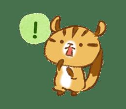 Cute Squirrel-Chipmunk~Jojo sticker #8590411