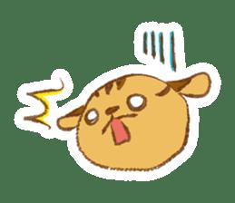 Cute Squirrel-Chipmunk~Jojo sticker #8590414