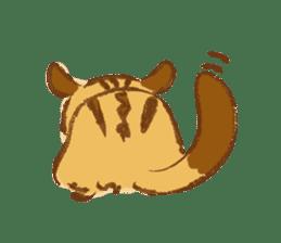 Cute Squirrel-Chipmunk~Jojo sticker #8590418