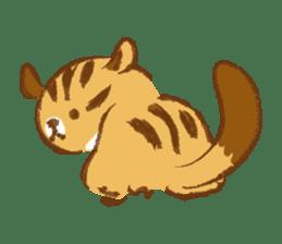 Cute Squirrel-Chipmunk~Jojo sticker #8590420