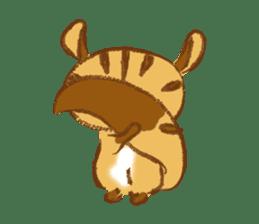 Cute Squirrel-Chipmunk~Jojo sticker #8590422